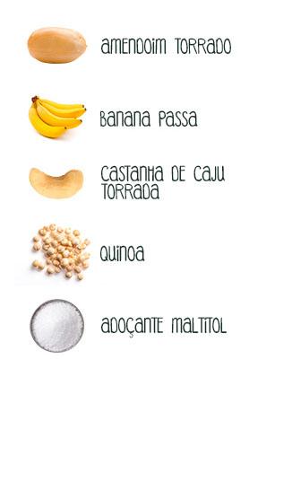 Principais ingredientes